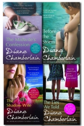 Diane Chamberlain Collection 4 Books Set Shadow Wife, Midwife's Confession (lOSE) by Diane Chamberlain