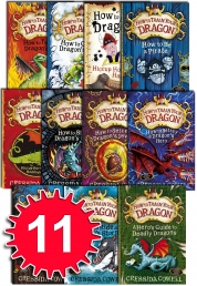 How to train your Dragon 11 Books Collectio Photo