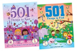 Things To Spot Collection 2 Books Set 501 Things f Photo