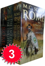M C Scott Rome Series 3 Books Collection Set Pack Photo