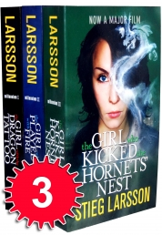 Stieg Larsson Millennium Trilogy 3 Books Set Photo
