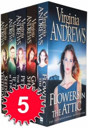 Virginia Andrews Dollanga Collection 5 Books Set Photo