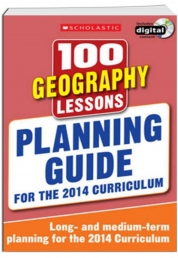 100 Geography Lessons Planning Guide 2014 Curriculum CD-ROM Study book Year 1-6 New by Scholastic