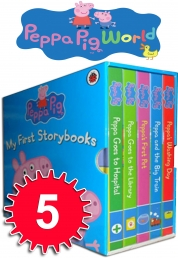 Peppa Pig Collection My First Story books 5 Books Box Set by Lady bird