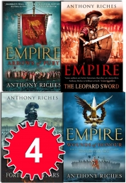 Anthony Riches Empire Series Collection 4 Books Set by Anthony Riches