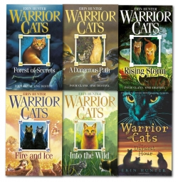 Warrior Cats Collection Erin Hunter 6 Books Photo