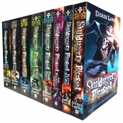 Skulduggery Pleasant Derek Landy 8 Books Set Collection Last Stand of Dead Men