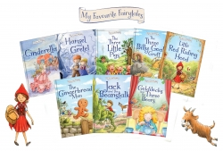 My Favourite Fairy tale Collection 8 Books Box Gif Photo
