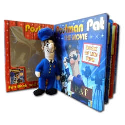 Postman Pat The Movie Fun Book and Cuddly Soft Toy Gift Boxed Collection Set NEW by Igloo