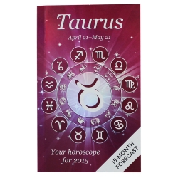 Your Horoscope 2015 Book 15 Month Forecast, Zodiac Sign, Future Reading, Tarot Taurus by Igloo Books
