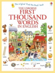 Usborne My First Thousand Words in English Books Paperback by Usborne