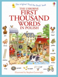 Usborne My First Thousand Words in Polish Book NEW Photo