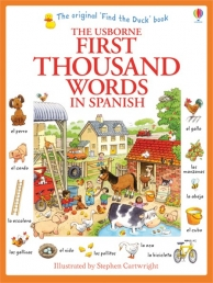 Usborne My First Thousand Words in Spanish Book Photo