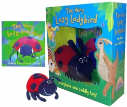 The Very Lazy Ladybird Storybook & Toy Collection Photo