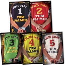 Tom Palmer Football Detective 5 Books Photo