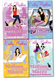 Million Dollar Mates Collection Cathy Hopkins 4 Books Set Pack by Cathy Hopkins
