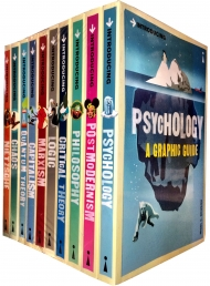 A Graphic Guide Introducing 10 Books Collection Set Psychology, Marxism,Logic by