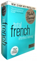 Total French with the Michel Thomas Method inc Practice & Test (CD-Audio) by