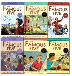 Enid Blyton Famous Five Series Collection 6 Books Set (16 To 21) by Enid Blyton