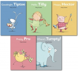 Polly Dunbar's Tilly and Friends Collection 5 Book Photo
