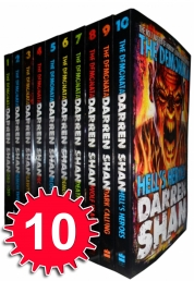 Darren Shan Demonata Collection 10 Books Set Pack Photo