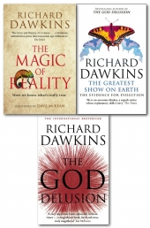 Richard Dawkins Collection 3 Books Set Pack by Richard Dawkins
