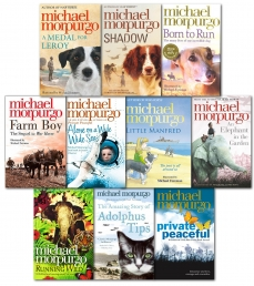 Michael Morpurgo Collection 10 Books Set Private Peaceful, Shadow, Farm Boy, Run by Michael Morpurgo