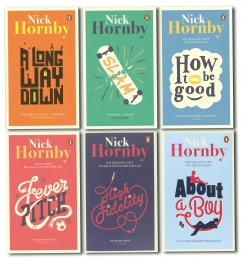 Nick Hornby Collection 6 Books Set Slam, High Fidelity, Fever Picth, About a Boy, How to be Good by Nick Hornby
