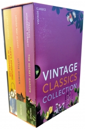 Vintage Children's Classics Collection 3 Books Box Set Pack by Various