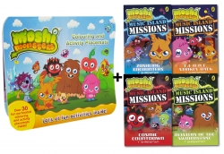 Moshi Monsters Music Island Missions 4 Books Collection Set by T Shrewman