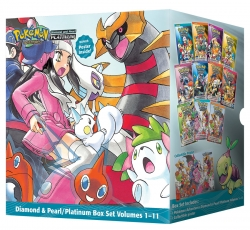 Pokemon Adventures Diamond & Pearl Platinum Collection 11 Books Box Set (Book 1-11) by Hidenori Kusaka