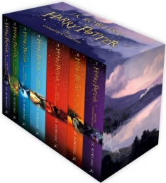 The Complete Harry Potter 7 Books Collection Boxed Gift Set NEW J K Rowling Photo