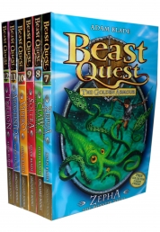 Beast Quest Series 2 The Golden Armour 6 Books Set Photo