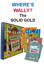 Where's Wally? The Solid Gold Collection 5 Books Photo