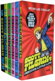 Scott Pilgrim 6 Books Collection Set Bryan Lee OMa Photo