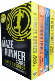 Maze Runner Series 4 books Set Collection Photo