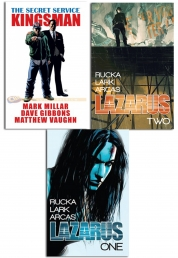 Lazarus And Kingsman series Collection 3 Books Set Photo