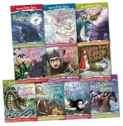 Scary Fairy Tales Stories 10 Books Collection Set Photo
