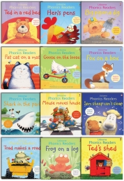 Usborne Phonics Young Readers 12 Picture Books Col Photo