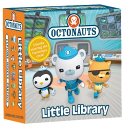 Octonauts Little Library Collection 5 Books Set by Octonauts