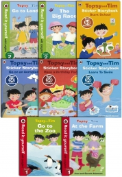 Topsy and Tim Learning Collection 8 Books Photo