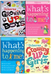 Usborne Growing up for Girls and Boy,What's happen Photo