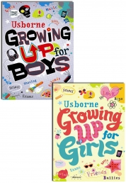 Usborne Growing up for Girls and Boys Collection Photo