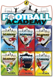 Football Academy 6 Books Set Tom Palmer collection Photo