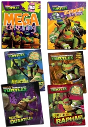 Teenage Mutant Ninja Turtles Nickelodeon 6 Titles Photo