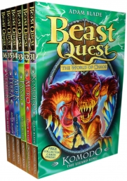 Beast Quest Series 6 The World of Chaos 6 Books Photo