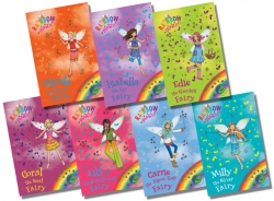 Rainbow Magic Green Fairies (78-84) 7 Books Photo