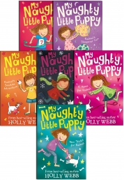 Holly Webb My Naughty Little Puppy Series Collection 6 Books Set Pack by Holly Webb
