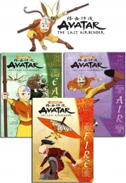 Avatar The Last Airbender 3 Books Collection Set P Photo