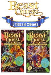 Beast Quest Special Series Collection 6 Titles in 2 Books Set by Adam Blade